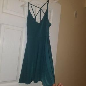 Teal Forever 21 Dress
